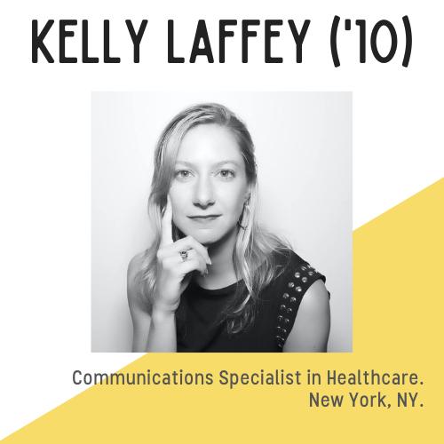 Headshot of Kelly Laffey, She looks pensive and thoughtful