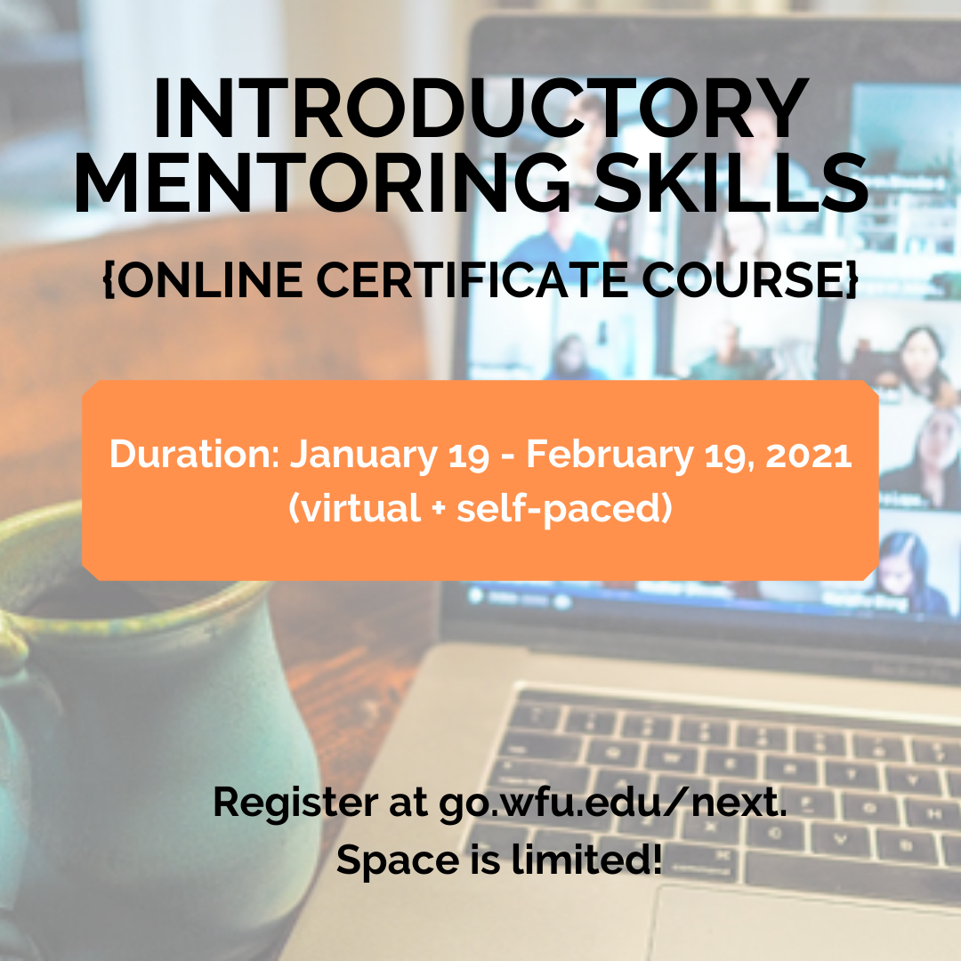 Register now! Course Duration: January 19-February 19, 2021