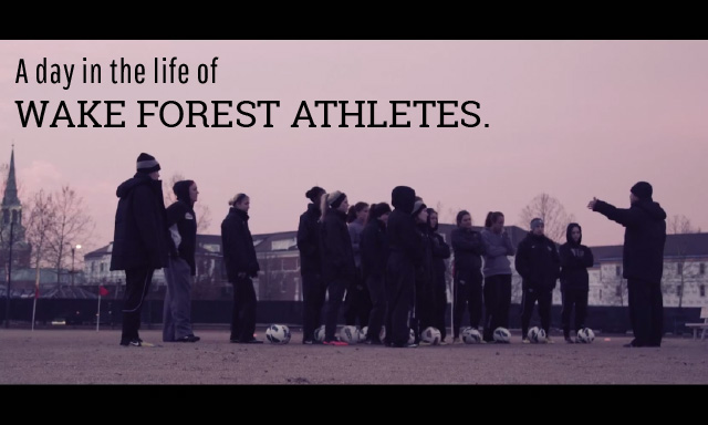 Day in the Life of Wake Forest Athletes