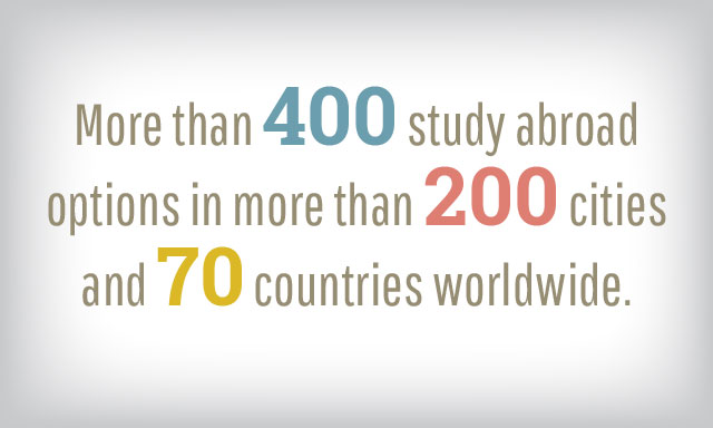 400 Study Abroad , Global Experience