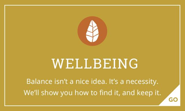 Wellbeing, Balance