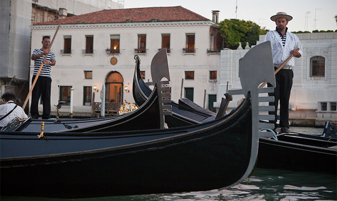 The Wake Forest residential study abroad program at Casa Artom, in Venice, Italy