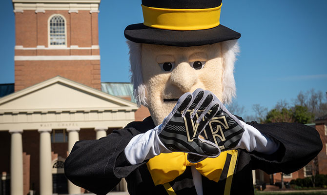 The Wake Forest Demon Deacon
