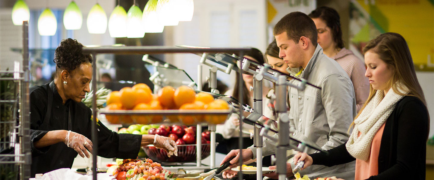 A day in the life of the Reynolda Fresh Foods Company, the Wake Forest dining hall colloquially known as