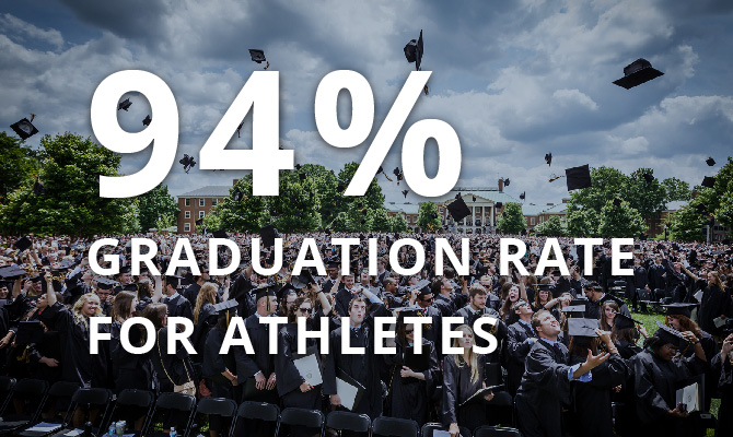94% Graduation Rate for Athletes