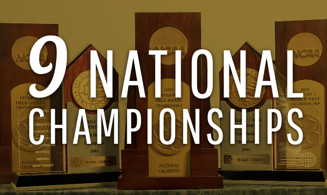 9 National Championships
