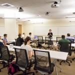 WFU Charlotte Classroom interior