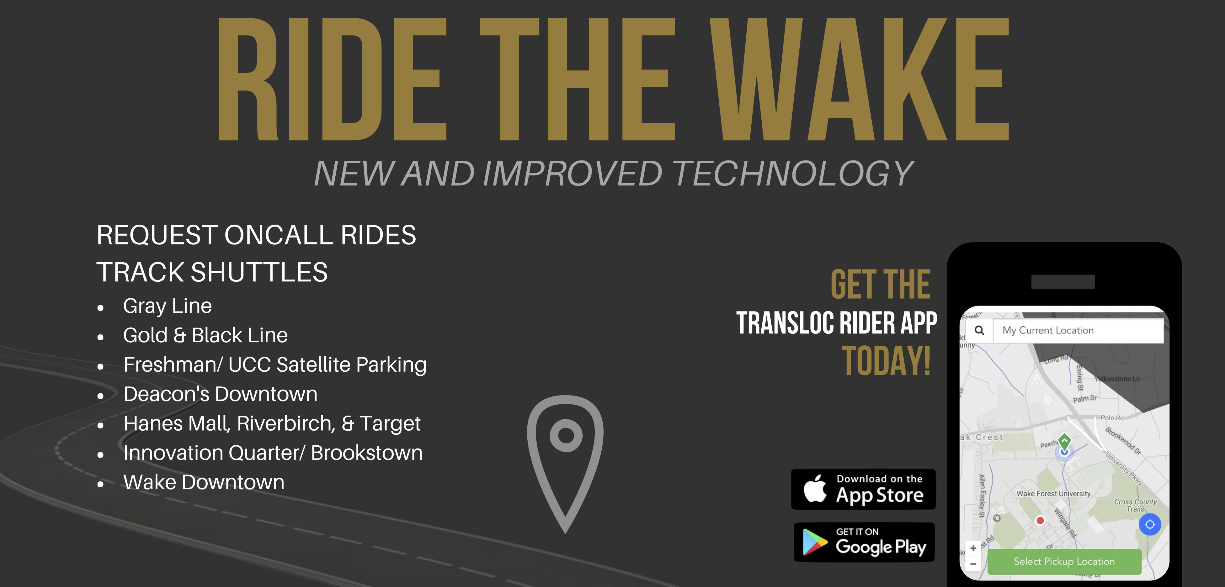 Ride The Wake Advertisement
