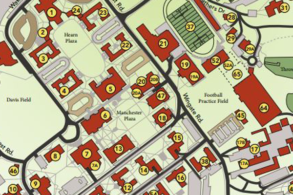 Campus Map and Directory