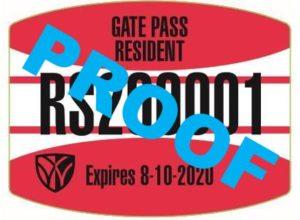 Resident Permit Proof
