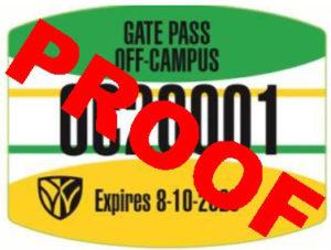off campus permit proof