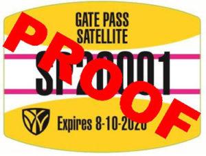 Satellite Gate Pass Proof