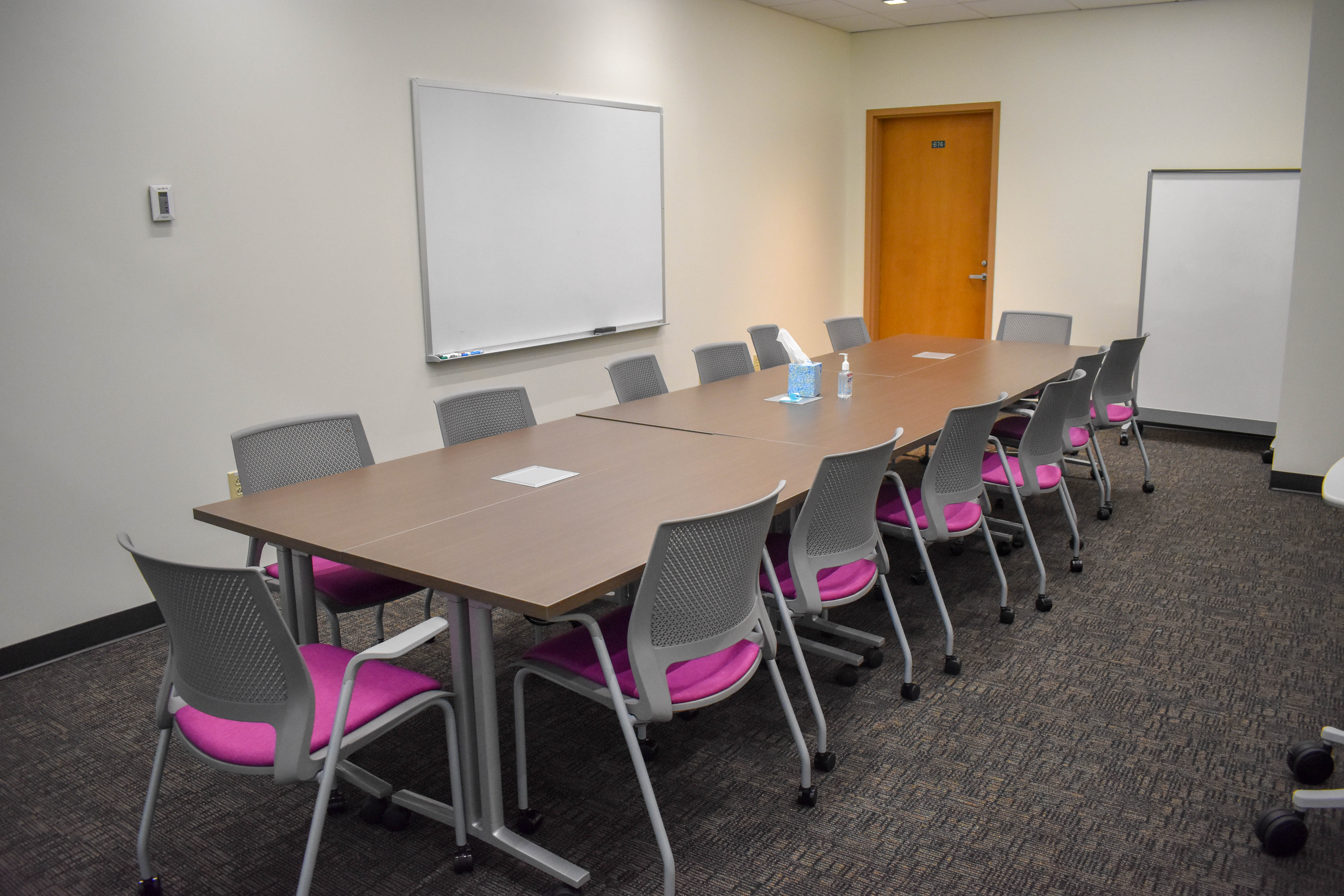 Wilson Wing new classroom in ZSR Library