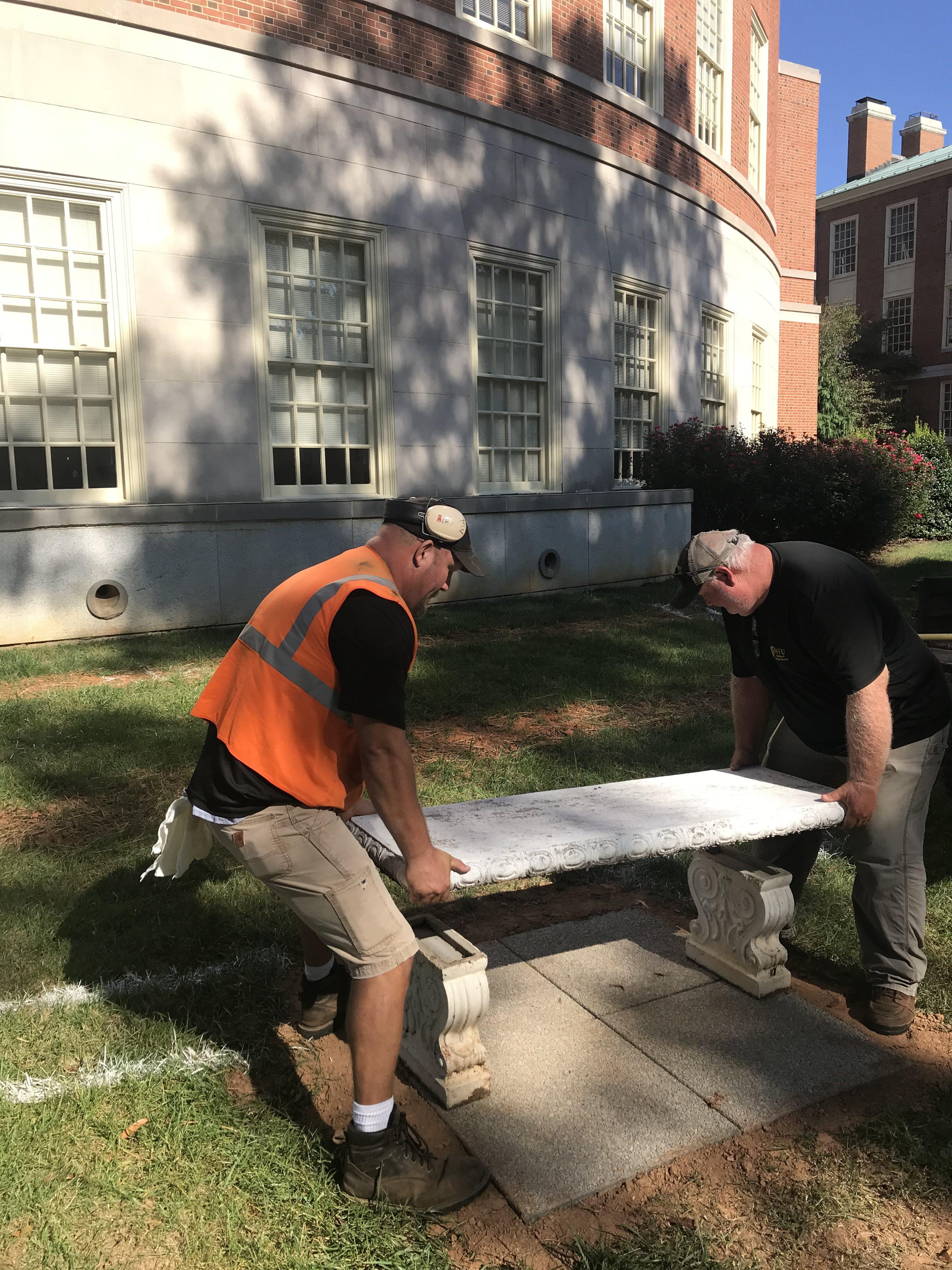 Stupendous Facilities Campus Services Outdoor Classroom Bench Placement Uwap Interior Chair Design Uwaporg