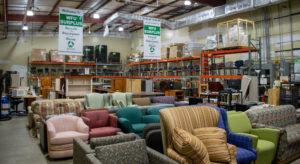surplus warehouse furniture all over