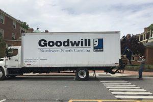 goodwill donation truck