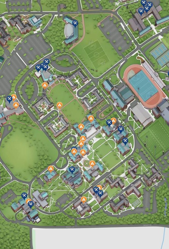 campus map section