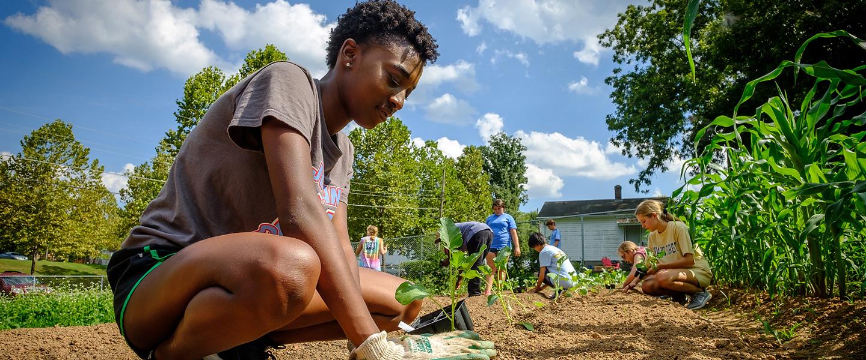 Civic Scholars - Campus Garden