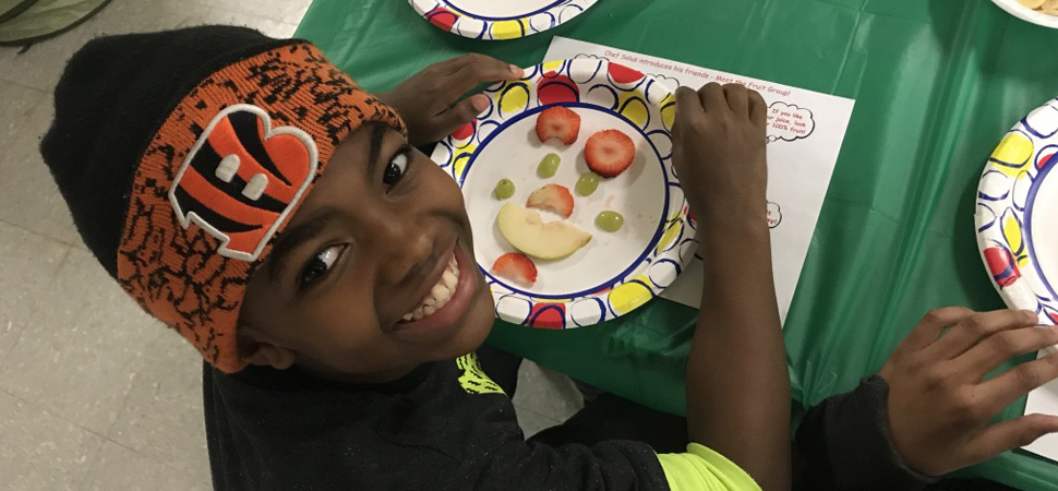 Kids Cooking Coalition Fruit Class