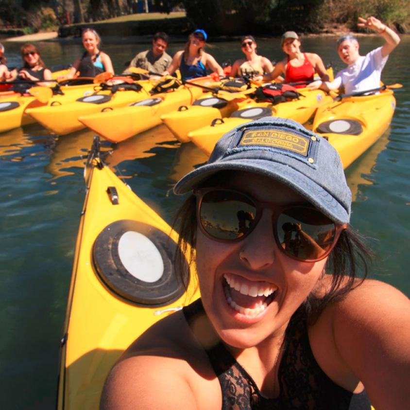 Wake Alternative Break - Kayak