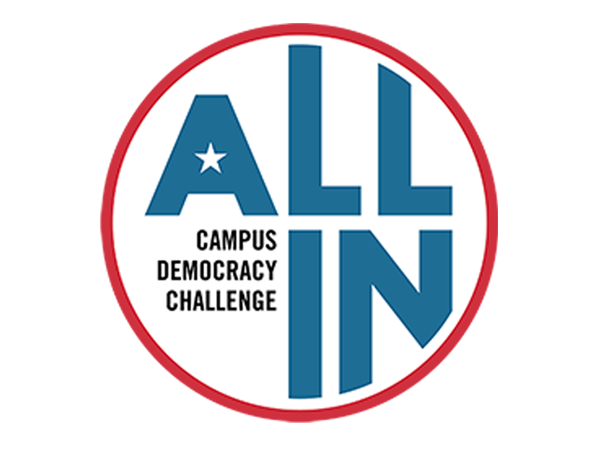 All In Democracy Challenge Logo