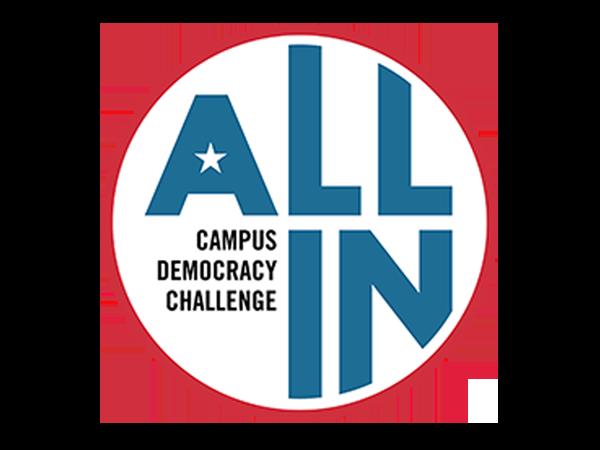 All In Democracy Challenge Logo