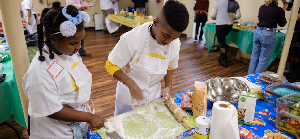 Kids Cooking Competition Front Page