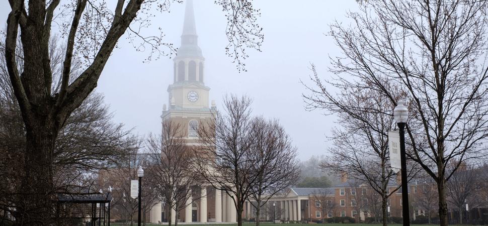 Wait Chapel in Fog