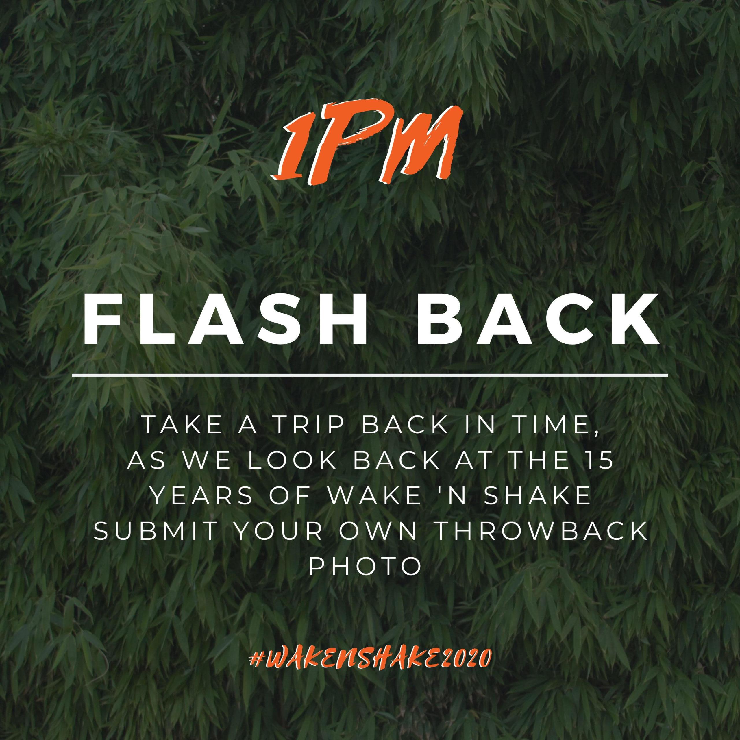 1 pm-flashback hour