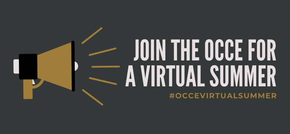 OCCE Virtual Summer - WEB Header