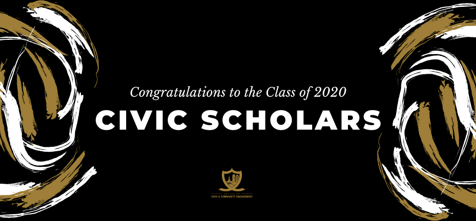 2020 Civic Scholars Web Header