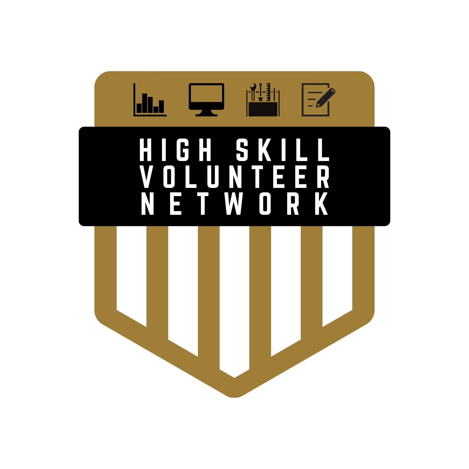High School Volunteer Network Logo