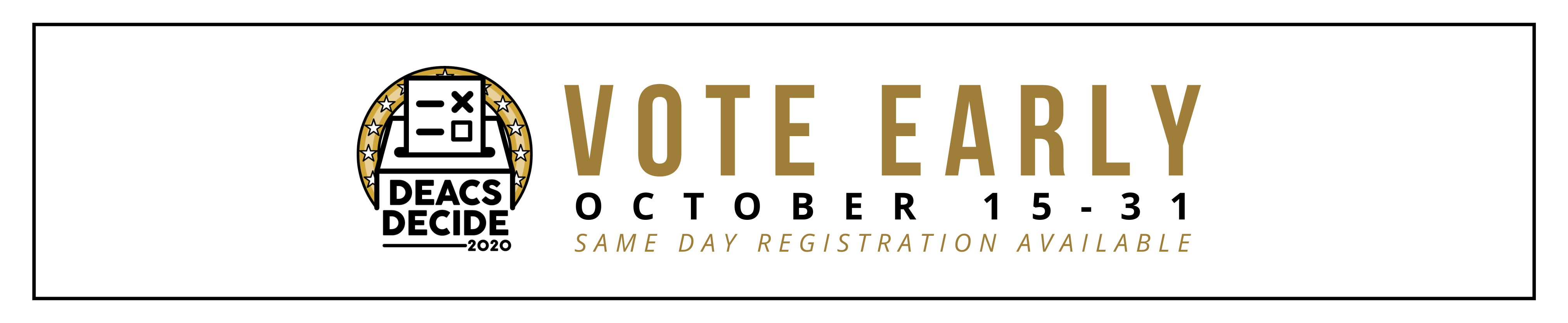 Deacs Decide - EARLY VOTING Main Page Header