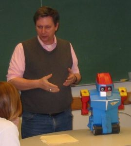 Kurt Shaw in the classroom.
