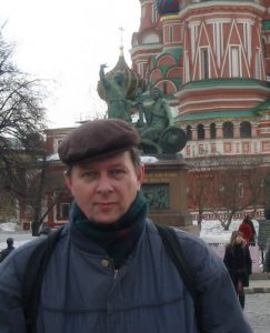 Kurt Shaw in Moscow, Russia.