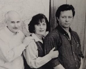Kurt Shaw with colleagues.