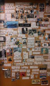 Kurt Shaw's office door.