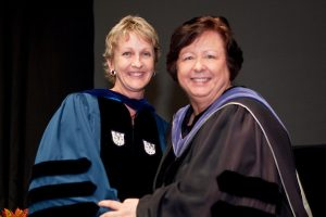 Susan Borwick at Convocation