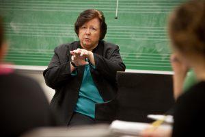 Susan Borwick teaching
