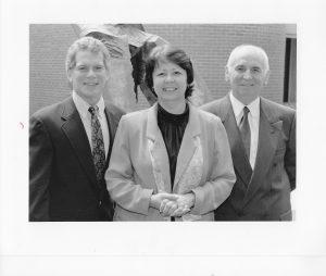 Susan Borwick with colleagues