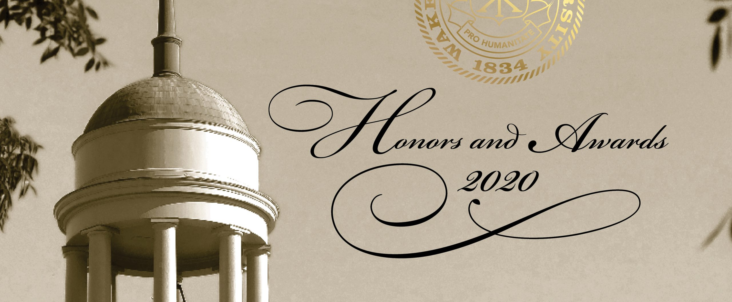 Honors and Awards program slider