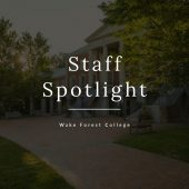 Staff Spotlight graphic