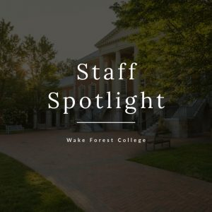 Staff Spotlight graphic