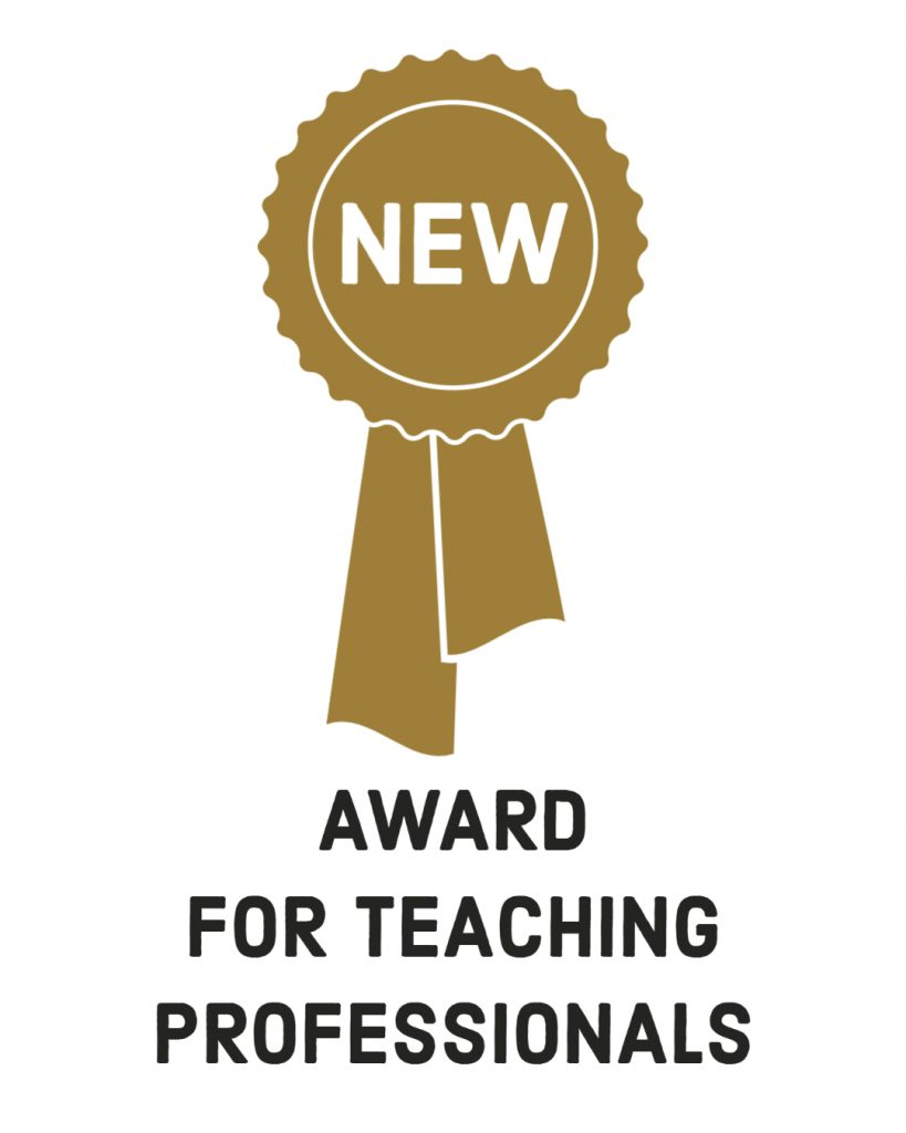 New Award for Teaching Professors logo