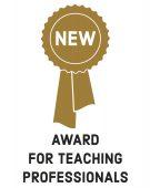 New Award for Teaching Professors logo
