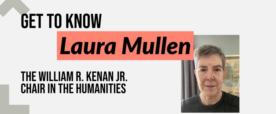 Laura Mullen announcement