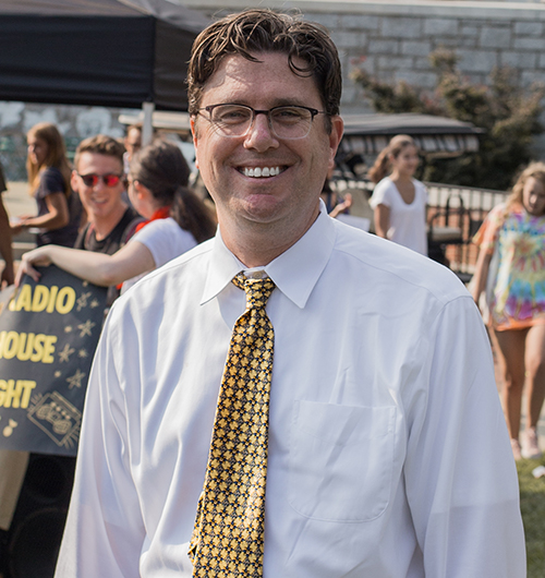 Adam Goldstein, Dean of Students at WFU