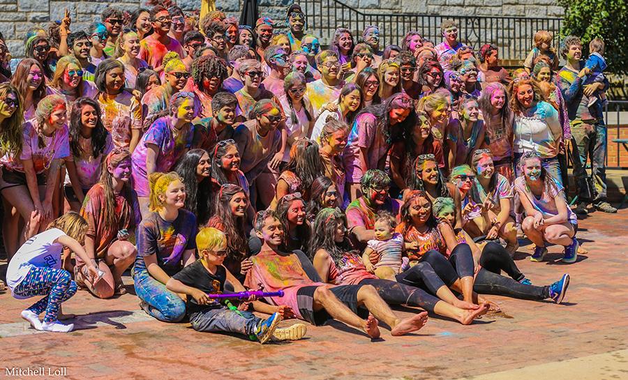 Holi Celebration at WFU