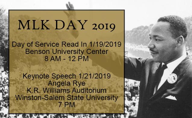 MLK Day 2019 at WFU