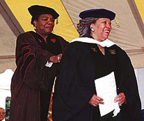 obel Prize-winning novelist Toni Morrison